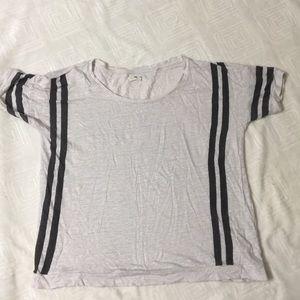 MADEWELL  courtstripe linen t shirt